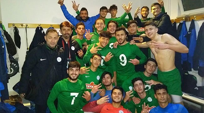 Çaykur Rizespor U19'dan 3 golle 3 puan