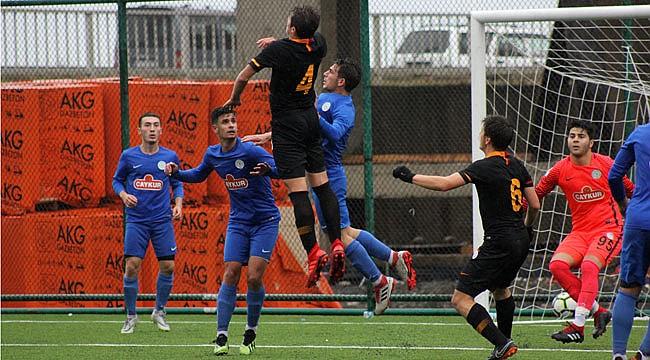 Çaykur Rizespor U19'dan temiz yenilgi: 0-3