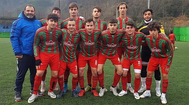 Çaykurspor U19'dan 22 gollü galibiyet