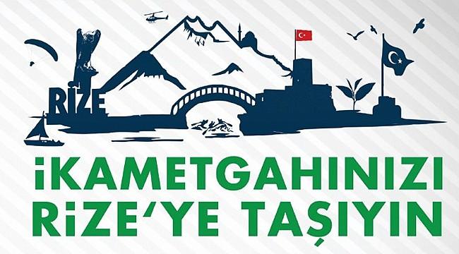 Kasap'tan 'İkametgahlarınızı Rize'ye taşıyın' çağrısı