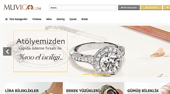 Online Kuyumcunuz Muvigo.com Açıldı!
