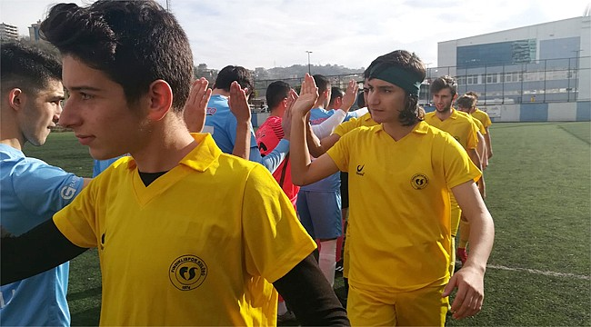 Pazarspor ile Fındıklıspor U19 takımları yenişemedi