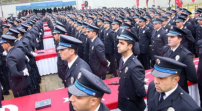 Rize POMEM'de 302 öğrenci mezun oldu
