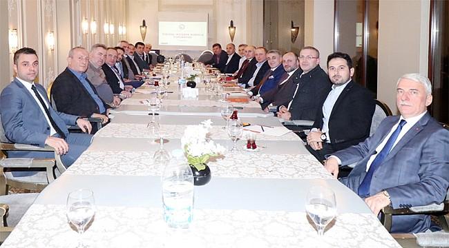 RTSO Yüksek İstişare Kurulu Rize için toplandı