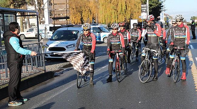 4. Sarıkamış Şehitlerini Anma Bisiklet Turu Rize'den başladı