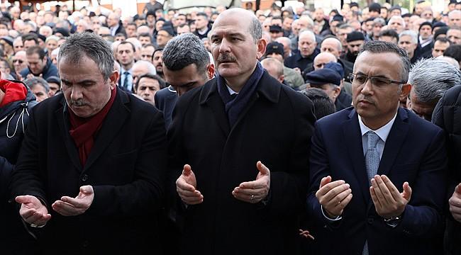 Bakan Soylu, Ahmet Minder'in acısını paylaştı