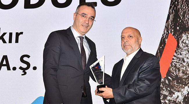 Çayeli Bakır'a 'Sosyal Diyalog' Ödülü