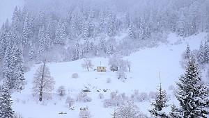 Kar yağışı Rize'yi olumsuz etkilemeye başladı