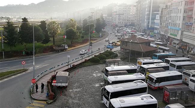 Rize Belediyesi'nden şehrin trafiği için çözüm çalışmaları