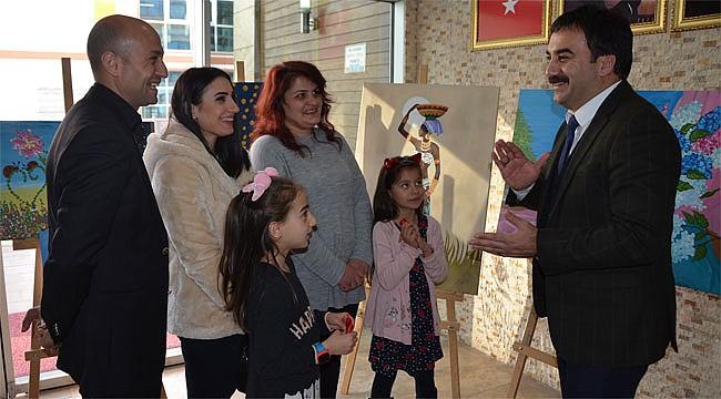 Rize'de 'Anne ve Babamla Birlikte Öğreniyorum' Projesi
