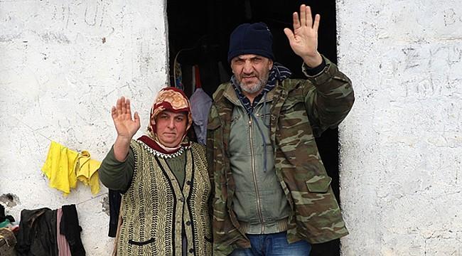 Rize'de elektriği olmayan evde yaşam mücadelesi