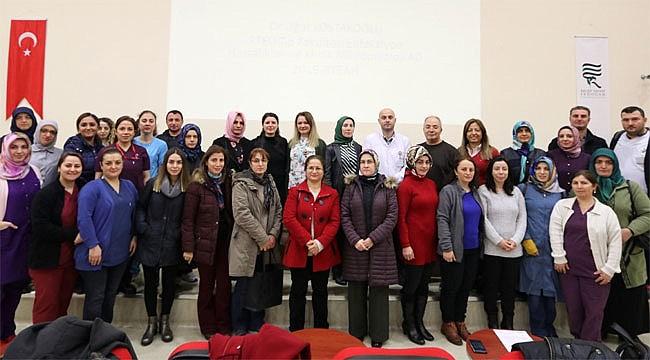Rize'de 'Enfeksiyon Kontrol Tedbirleri' Eğitimi