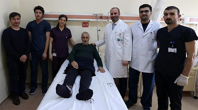 Rize'de ilk kez yapılan yöntemle sağlıklarına kavuştular