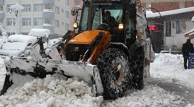 Rize'de kara kış etkisini göstermeye başladı