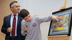 Rizeli öğrenci yaptığı resimle Türkiye 2.'si oldu