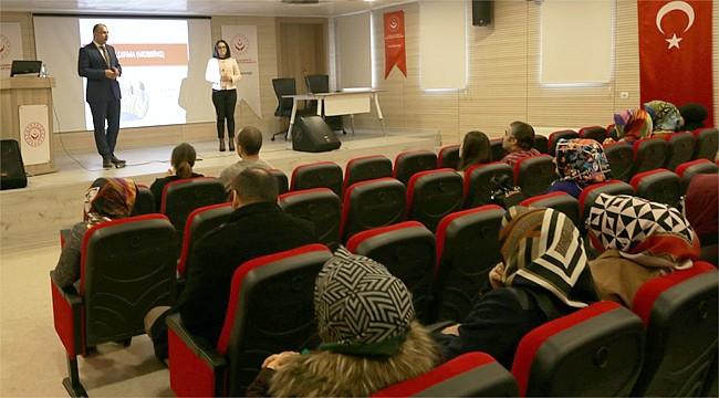 Rize'de kurumlara çocuklar için eğitim