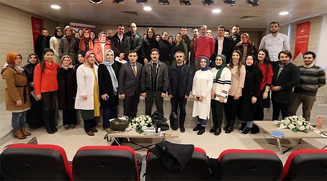 Rize'de rehber öğretmenlere ve ASDEP personeline eğitim verildi