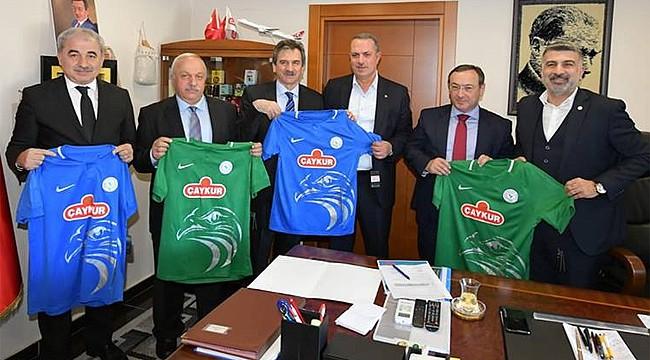 Çaykur Rizespor ile Çaykurspor arasında altyapı işbirliği