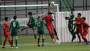 Çaykur Rizespor U15, Malatyaspor'u 3-2 ile geçti