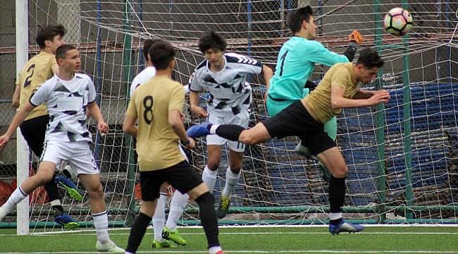 Çaykur Rizespor U17, öne geçtiği maçtan mağlup ayrıldı