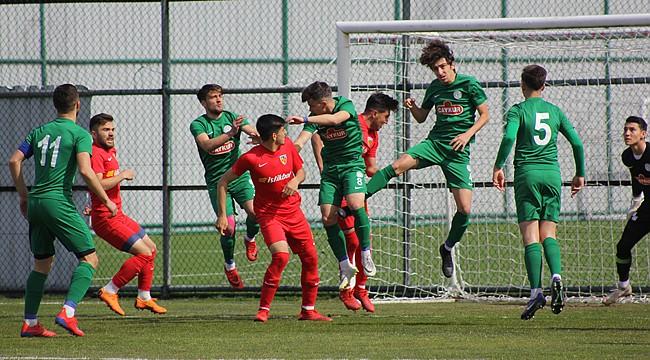 Çaykur Rizespor U21'e gençlik enerjisi geldi: 3-1