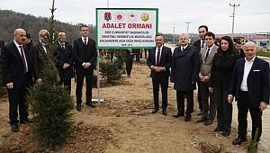 Rize'de 'Adalet Ormanı' oluşturuldu