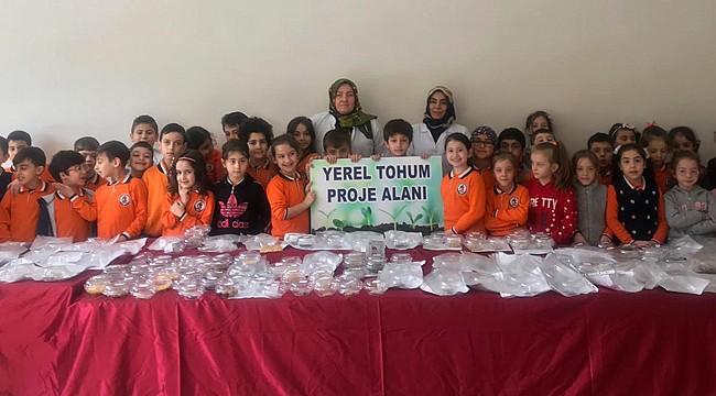 Rize'de öğrencilerden 'Yerli Tohum, Milli Tarım' atağı