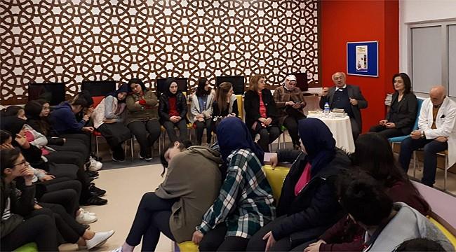 Yaşayan Tarih Ali Taşpınar Rize'de öğrencilerle buluştu