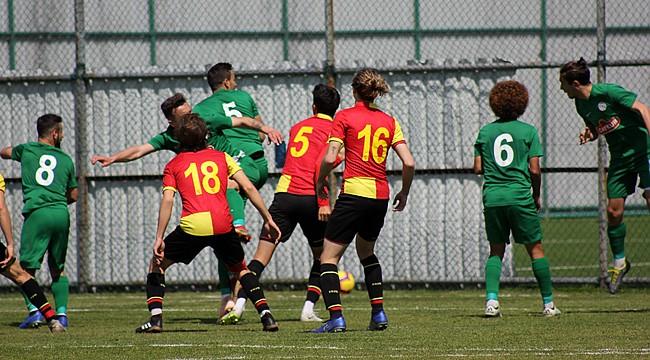 Çaykur Rizespor U21, Göztepe'yi de geçemedi