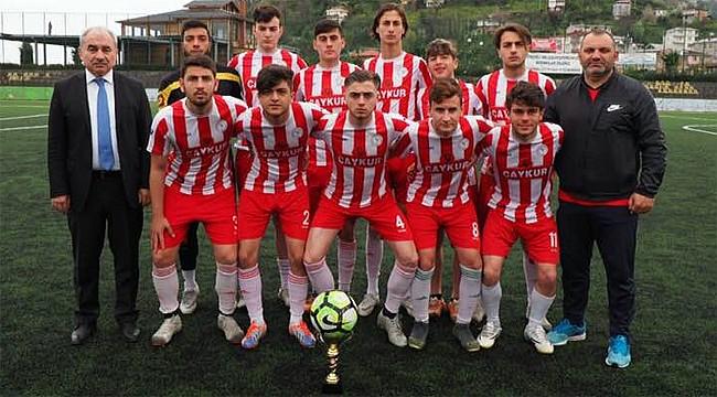 Çaykurspor U19 takımı Rize Şampiyonu oldu