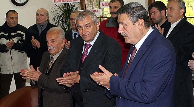 Fındıklı'nın yeni belediye başkanı Çervatoğlu göreve başladı