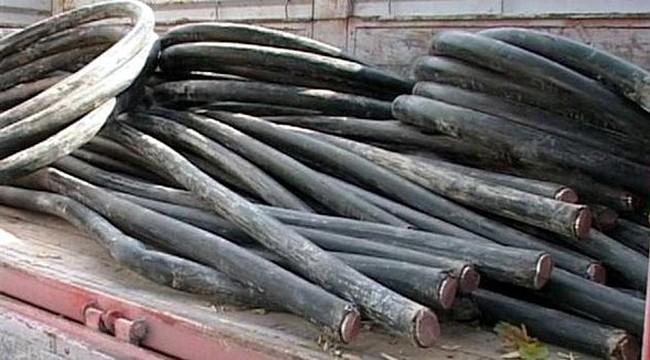 İkizdere'de 4 kablo hırsızı yakalandı