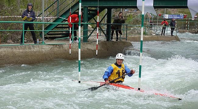 Kano Slalom Bahar Kupası'nda Rize'ye 5 birincilik