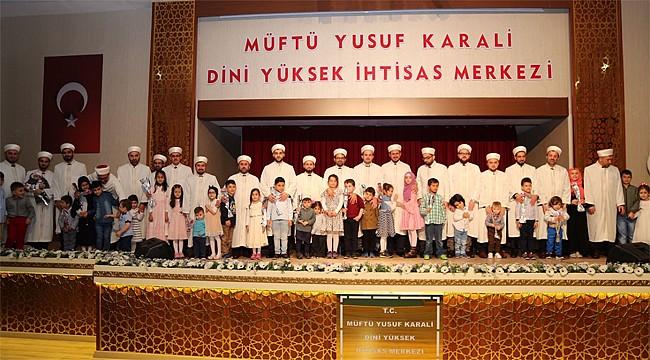 Müftü Yusuf Karali'de 8. dönem öğrencileri mezun oldu