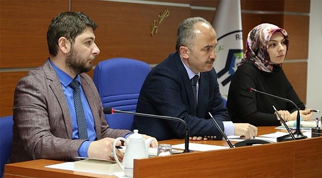 Rize Belediye Meclisi'nde görev dağılımı yapıldı