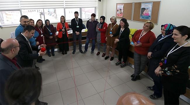 Rize'de Aile Hekimleri ve elemanlarına ÇPGD Eğitimi verildi