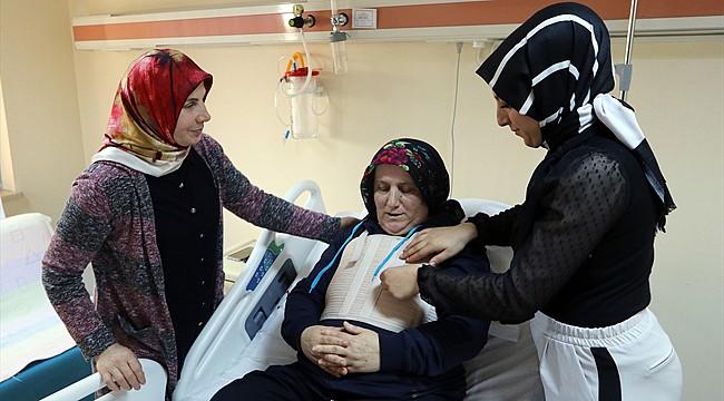 Rize'de yatan hastanın kalbinden 24 cm tümör çıktı