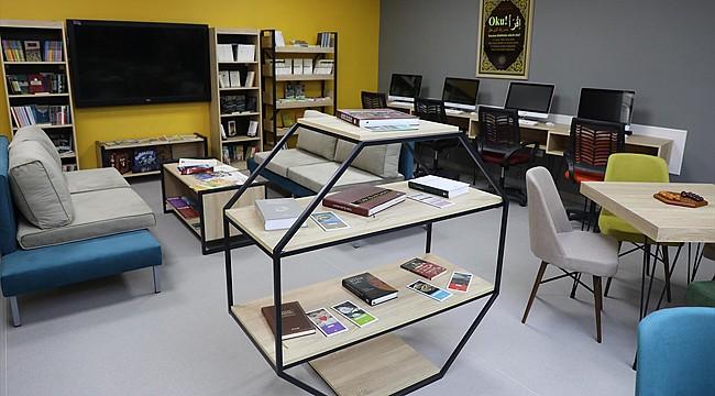 Rize'de 'Z-Kütüphane' açıldı