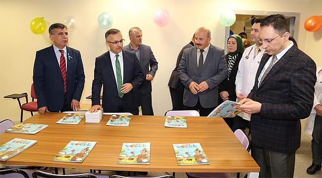 Rize Devlet Hastanesi'nde çocuklar için Eğitim Sınıfı açıldı