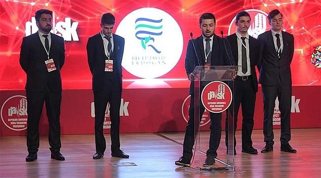 RTEÜ, DASK Tasarım Yarışmasında 5. oldu