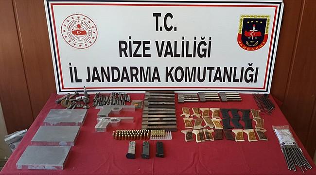 Ardeşen'de kaçak silah atölyesine baskın: 3 gözaltı