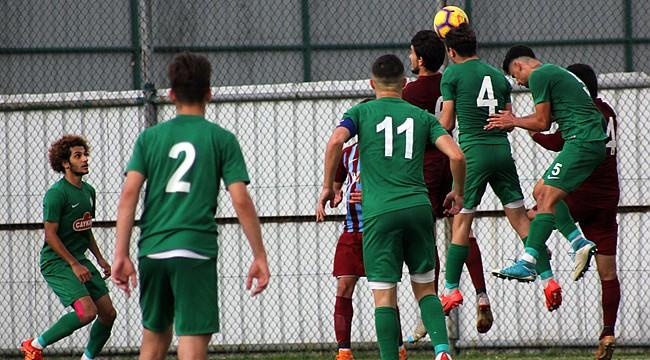 Çaykur Rizespor U21, son maçında 3-2 mağlup