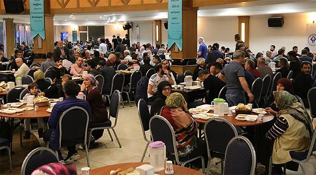 Rize Belediyesi'nin Gönül Sofrası iftarları başladı