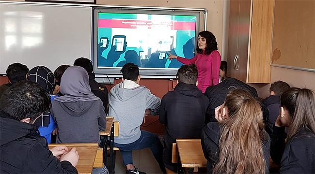 Rize'de Teknoloji Bağımlılığı'na karşı eğitim
