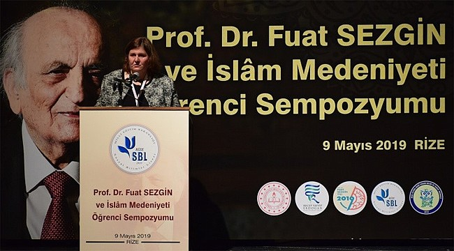 Rize SBL'de Prof. Dr. Fuat Sezgin Sempozyumu
