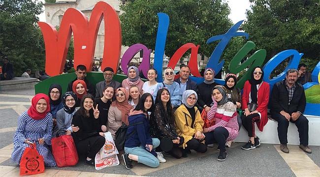 Rizeli öğrencilerden Malatya'ya 'kardeş' gezisi