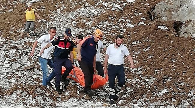 Uçuruma düşen yaşlı adam hayatını kaybetti