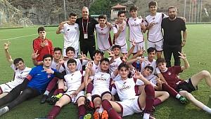 Ardeşenspor U16 takımı, Karadeniz Şampiyonu oldu