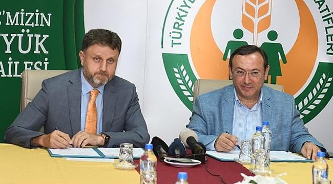 Çaykur ile Türkiye Tarım Kredi Kooperatifleri arasında işbirliği