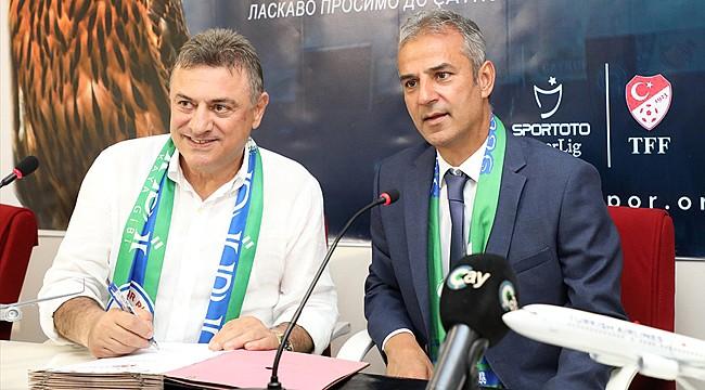 Çaykur Rizespor'da İsmail Kartal imzayı attı
